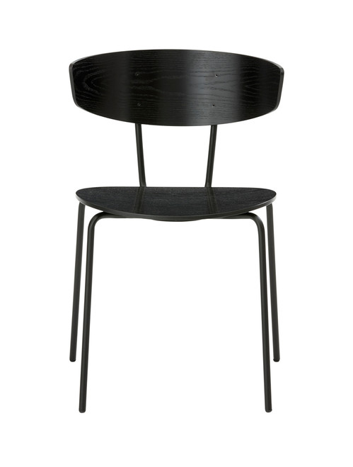 ferm living black herman chairs in black wood