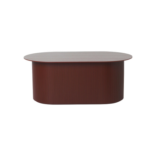 podia side tables red ferm