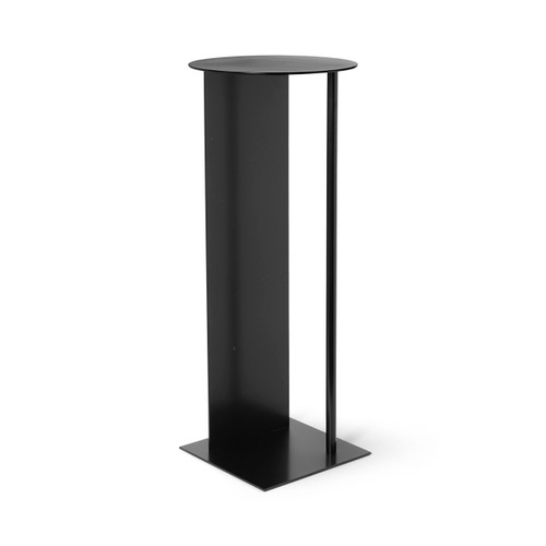 black pedestals for pots place ferm