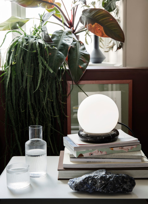 ferm living rest light marble black