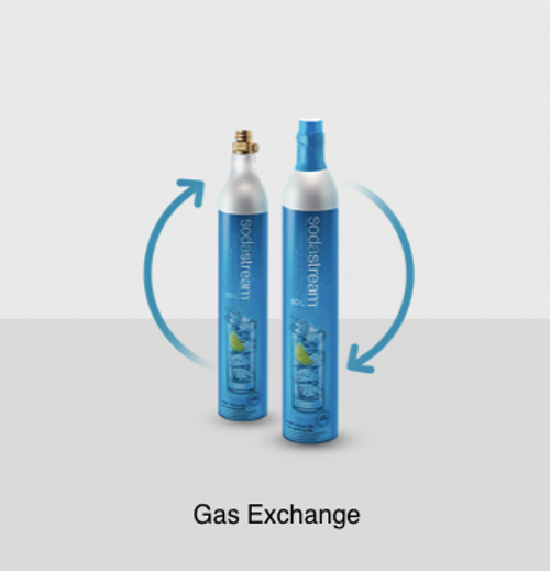 sodastream cylinder exchange replacement carbonators