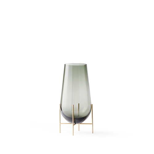 echasse vase small smoke