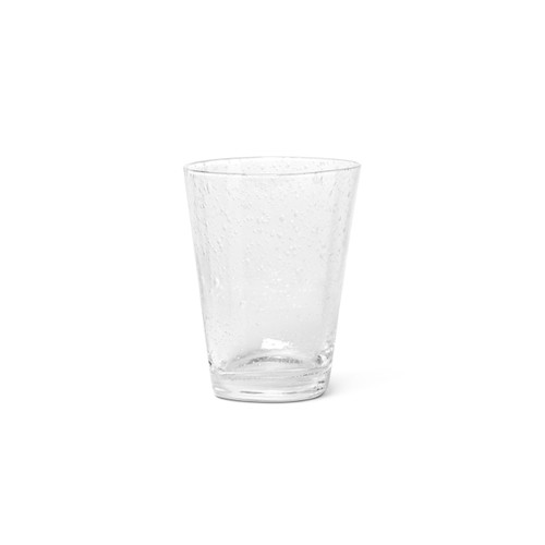clear glasses with bubble inclusions ferm