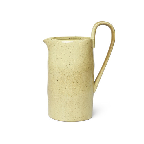 yellow jug ferm living imperfect porcelain