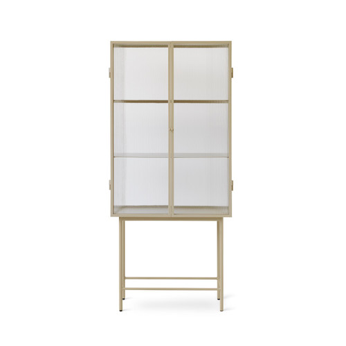 glass cabinets with doors for displays ferm