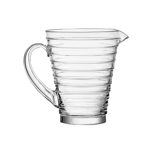 aino alto pourer with rings 120 cl clear