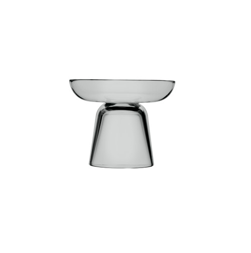 candleholders glass pillar grey iittala napula