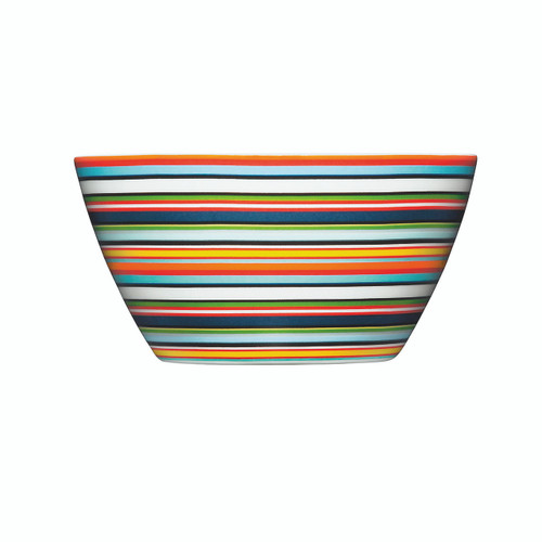 orange striped bowls iittala