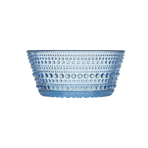 aqua dewdrops small bowls iittala light blue