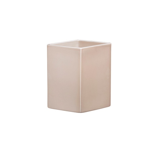 iittala ceramic vases sand colored ruutu