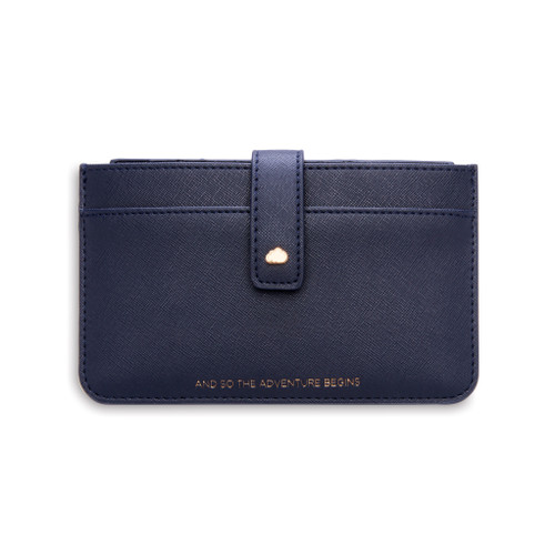 wallet with removable insert for cards and travel documents