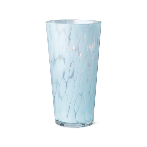 light blue glass handmade vases tall flower vases casca