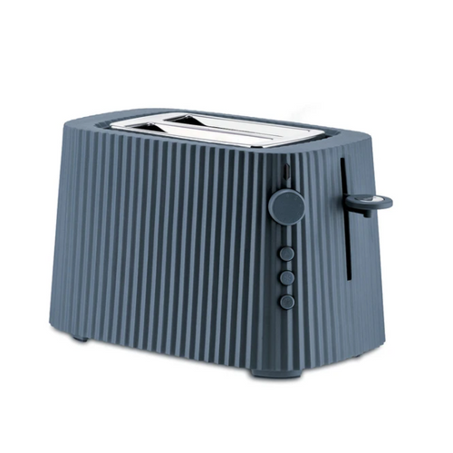 grey thermoplastic resin pleated toaster