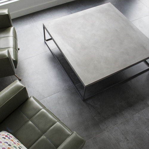 Square coffee table for modern or minimalist decor