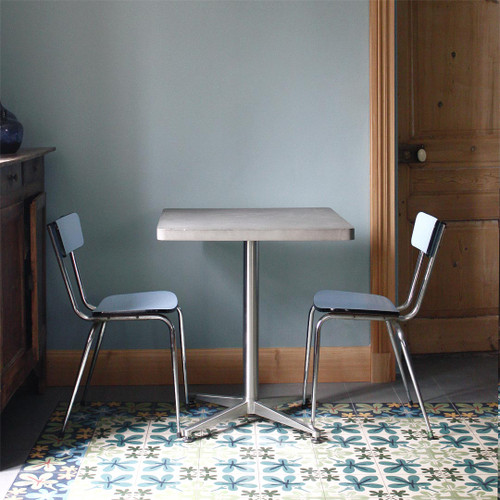 The Concrete Square Bistro Table