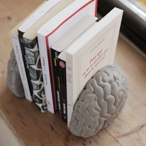 The Concrete Gray Matters Book Ends