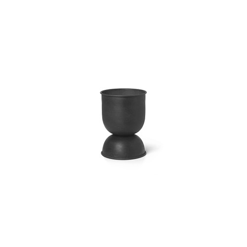 steel planters extra small black ferm