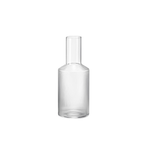 ferm living ripple carafe pourers clear deco carafes