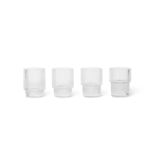 ripple glasses small clear