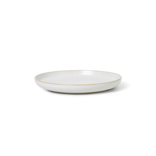 ferm living sekki side plates white ceramics