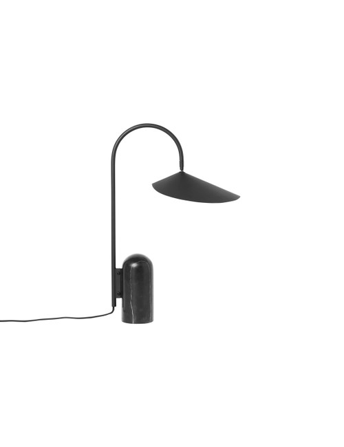 ferm living arum table light black