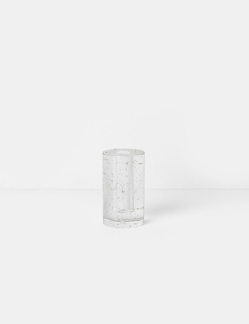 ferm living bubble glass cylinder candleholders