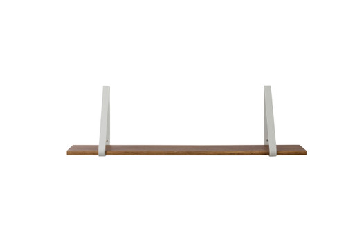 ferm living shelves for wall brackets wood boards light grey bracket dark oak shelf