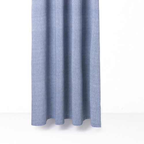 ferm chambray shower curtains cotton