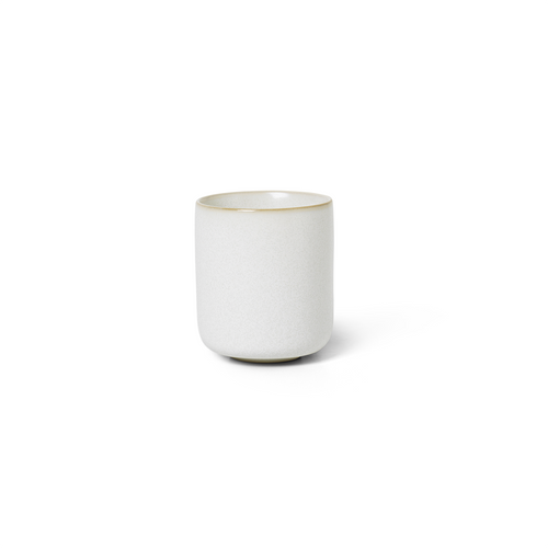 ferm living sekki small cup white ceramics
