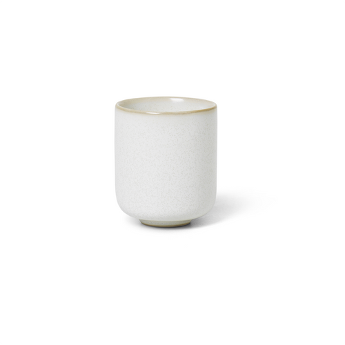 ferm living sekki large cup white ceramics