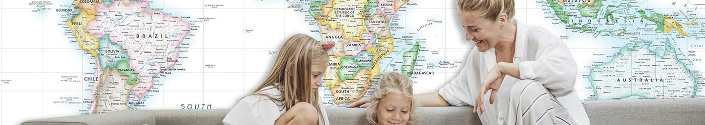 Map Murals