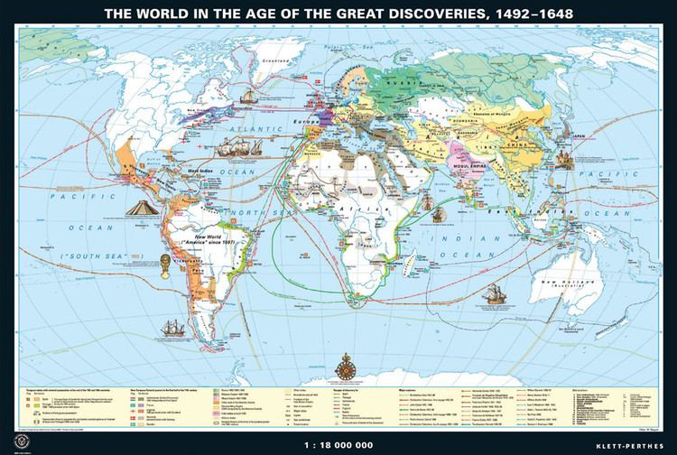 World History Maps from Klett-Perthes