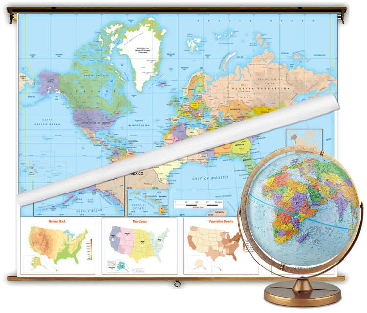 Intermediate Political Classroom Package from Academia Maps
