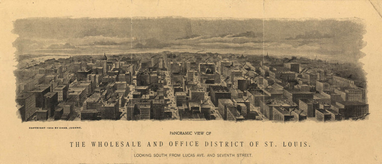 Historic Map - St. Louis, MO - 1904