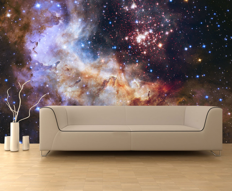 Westerlund 2 Star Cluster Space Wall Mural
