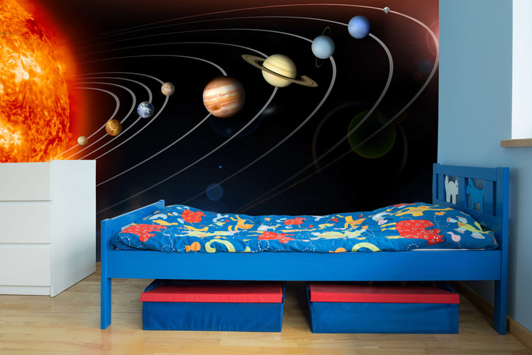 Exploring Our Solar System Wall Mural