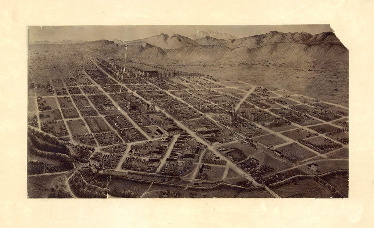 Historic Map - Fort Collins, CO - 1899
