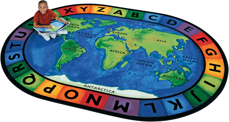 Circletime Around the World rug