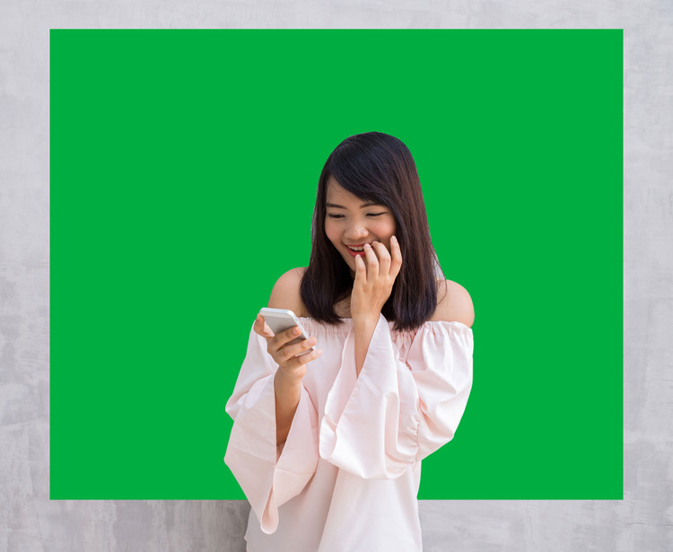 Removable Chroma Key Green Screen Backdrop - Background Wall Decal