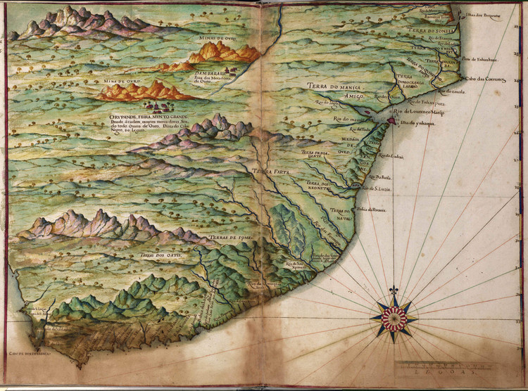 Historic Map - South Africa - 1630