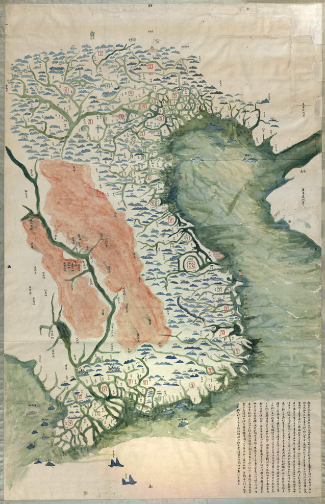 Historic Map - Vietnam - 1890