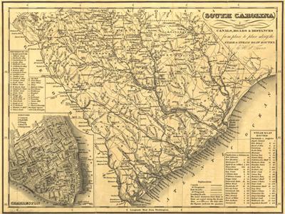 Historical Maps of South Carolina