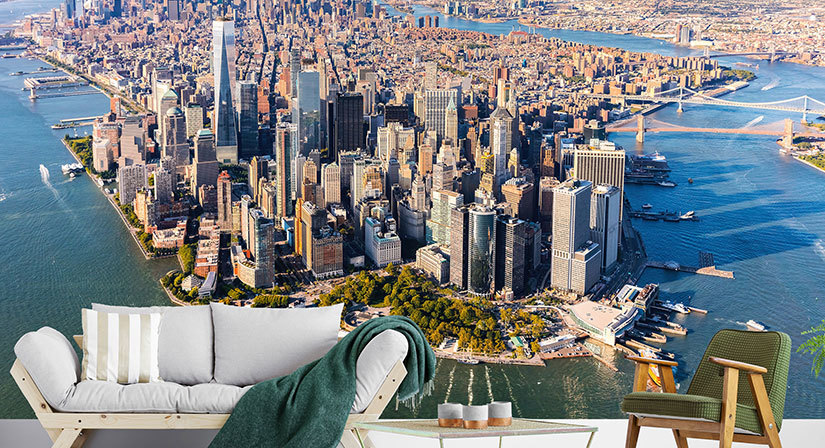 City & Nature Landscapes Wall Murals