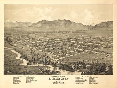 Historical Maps of Utah