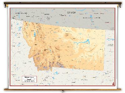 Montana State Classroom Maps