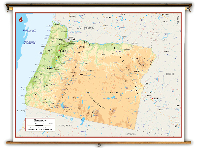 Oregon State Classroom Maps