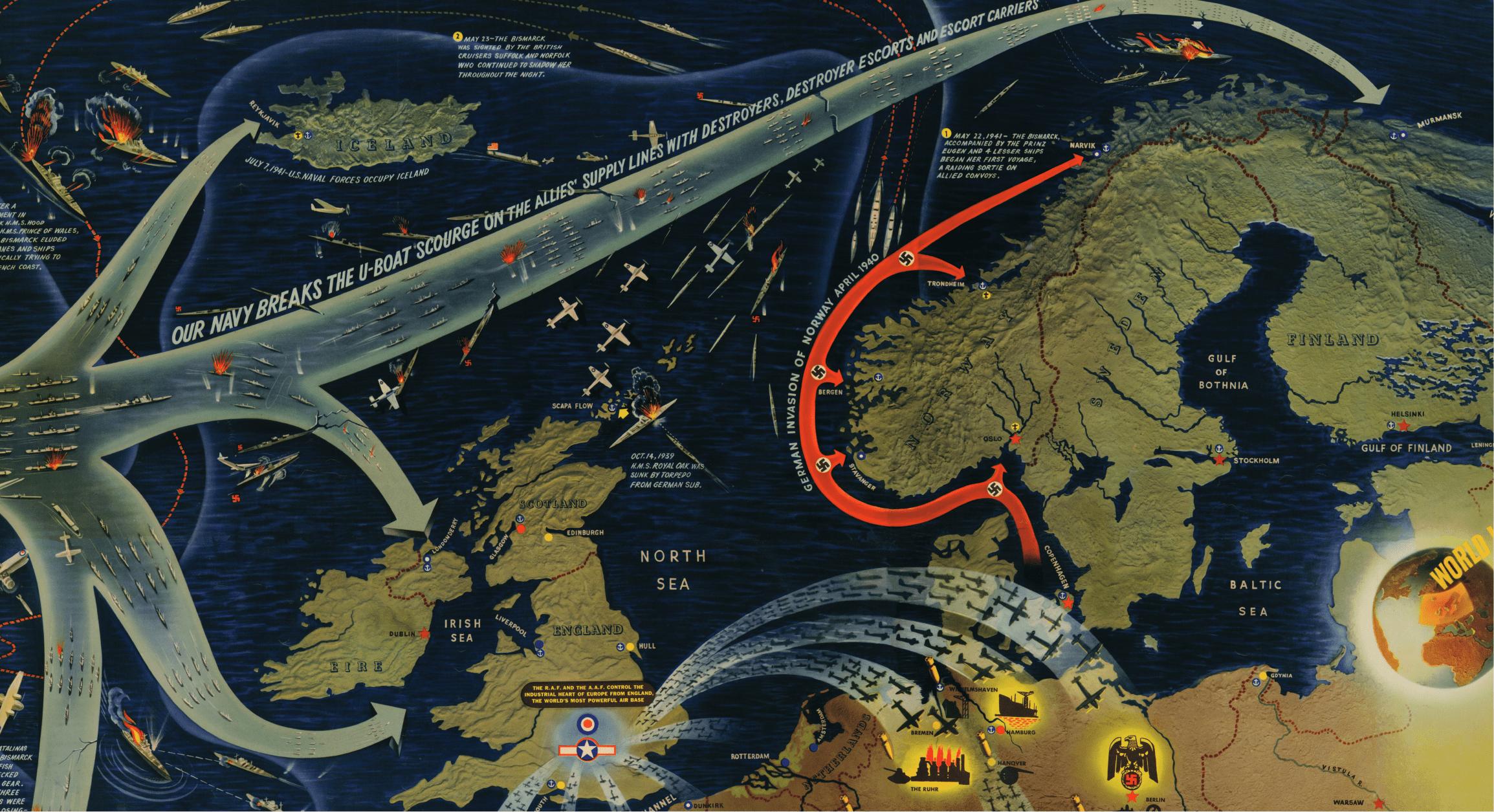 Historical War Maps