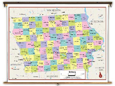 Iowa State Classroom Maps