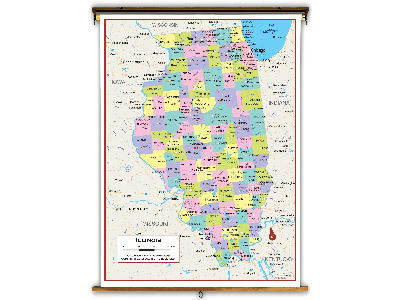 Illinois State Classroom Maps