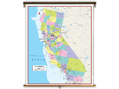 California State Classroom Maps